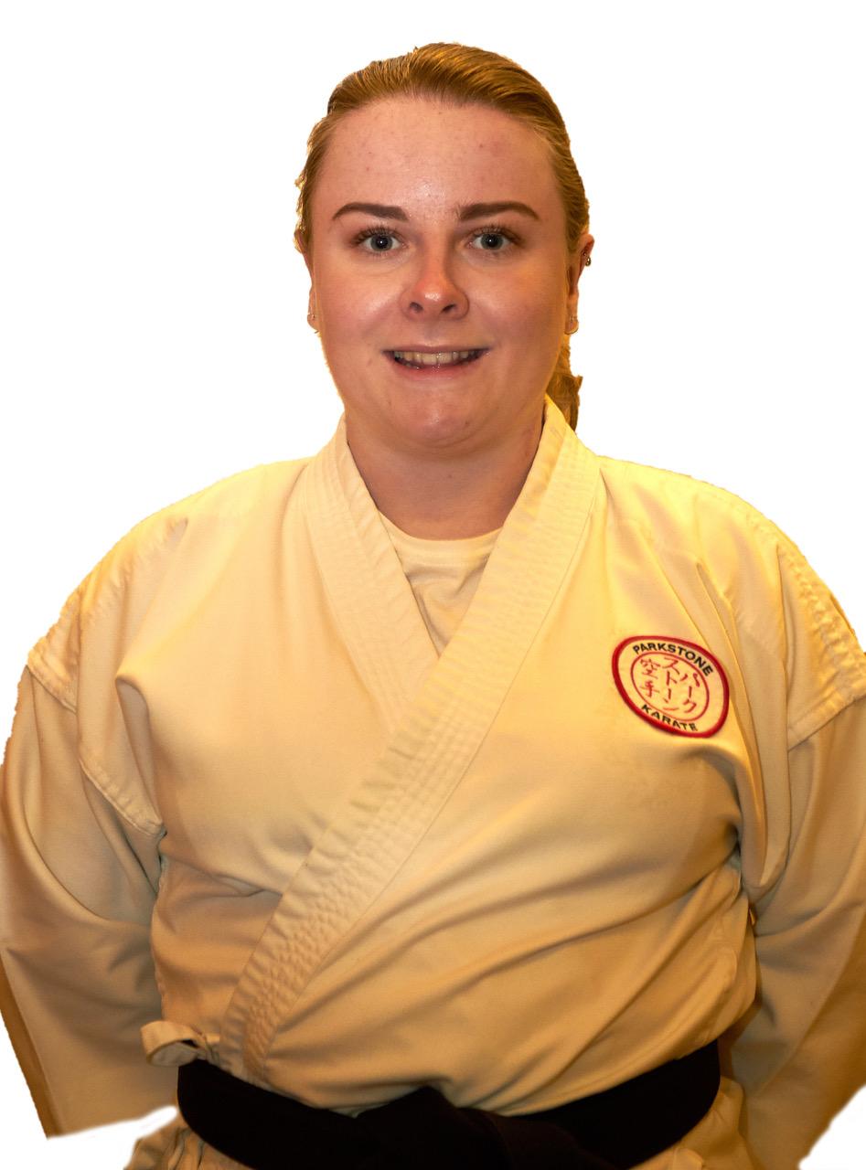 Sensei Megan Barber 3rd Dan